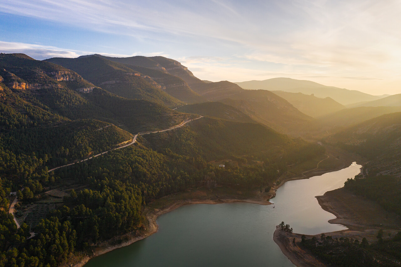 Embalse del Buseo Sunset - DJI Mavic2 Pro