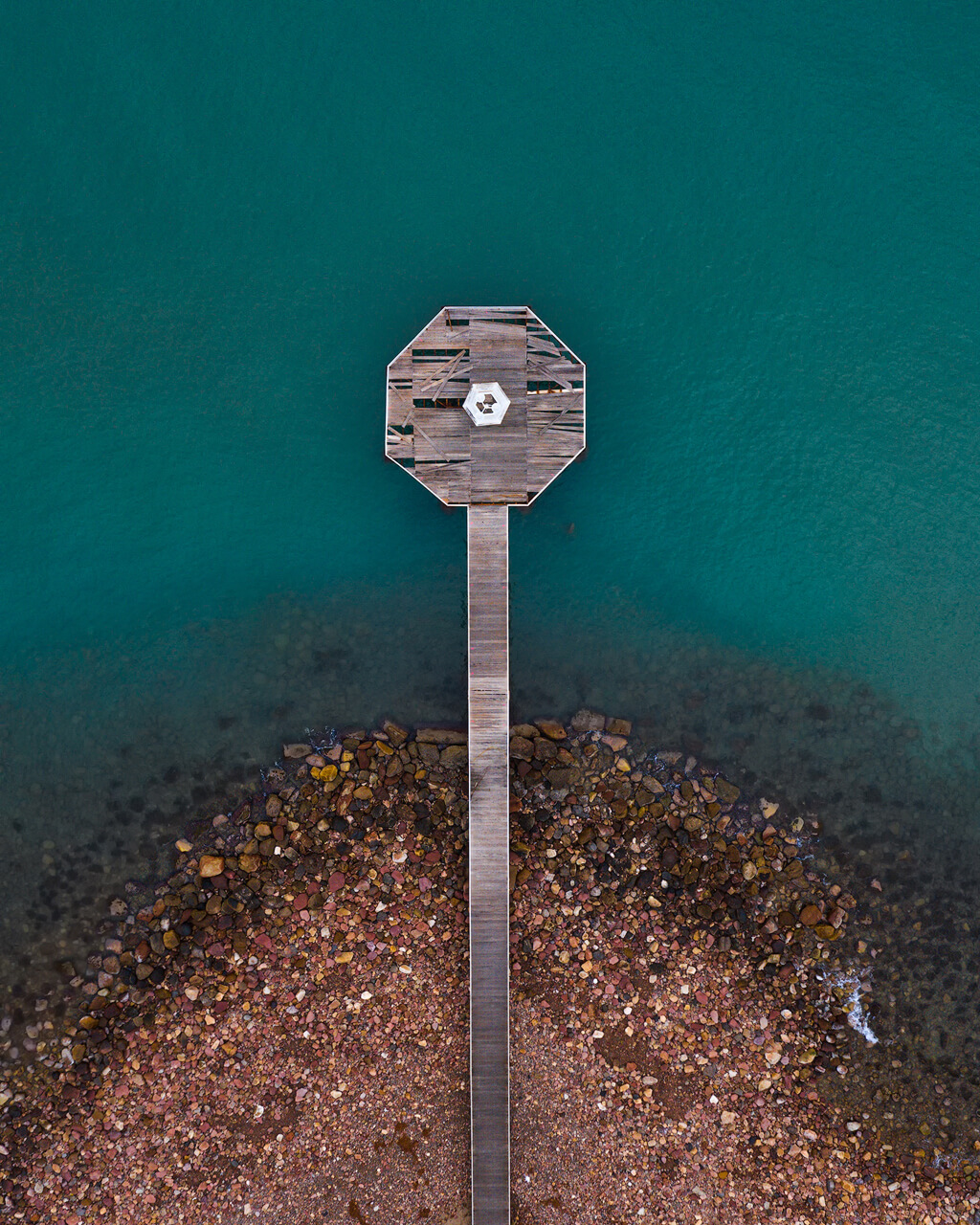 Xilxes Pier From Above - DJI Mavic2 Pro